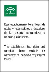 Servicio de reclamaciones en empresas